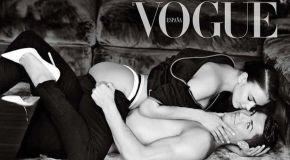 Cristiano Ronaldo and Irina Shayk pose naked for Spanish Vogue magazine